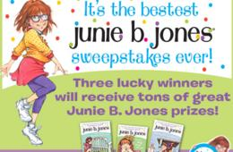 ENTER NOW! Win a Junie B. Jones Prize Pack - 3 WINNERS! ($176 Value)