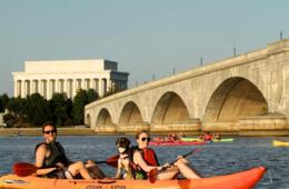 $10 for One-Hour Kayak or Paddleboard Rental - THREE Washington, DC Locations