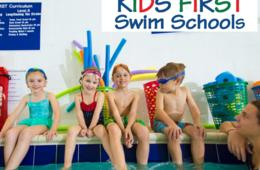 $50 for FOUR Swim Lessons at Kids First Swim School - Maryland, Virginia & Delaware Locations ($75 Value - 34% Off)