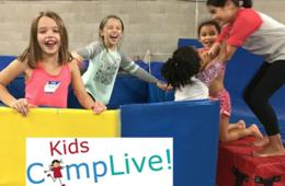 $140+ for KidsTime.Live Spring Break FUN Camp - Includes Field Trip to Terrapin Adventures for Ages 5-16 at Emilia's Acrobatics and Gymnastics Club - Laurel (27% Off)
