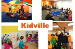 $45 for Kidville Sampler Package - 3 Classes and 2 Playspace Passes - Bethesda (69% Off - $142 Value) - Camp Option Too!