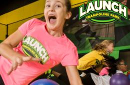 TWO 60-Minute Open Jump Passes at Launch Trampoline Park Columbia