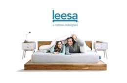 $100 Off Leesa Luxury, American Made Mattress Shipped FREE to Your Door - Try Risk-Free for 100 Nights! Prices Start $425 with Discount!