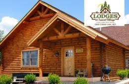 One-Night WEEKNIGHT Getaway in a Log Cabin Suite at The Lodges at Sunset Village + Wisp Resort Lift Tickets