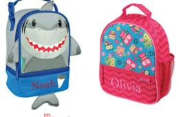 $14.99 for Back-to-School Personalized Lunch Totes - 10 Fun Designs ($21.98 Value - 32% Off)