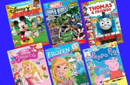 $14.99 for One-Year Magazine Subscription to Disney Junior, Thomas & Friends™, Disney Princess, Peppa Pig™ and MORE! (49% Off)