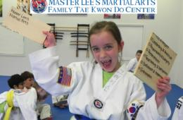Master Lee's Martial Arts Tae Kwon Do Birthday Party