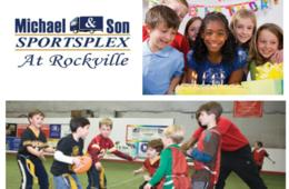 Michael & Son SportsPlex in Rockville Weekday Birthday Party Package