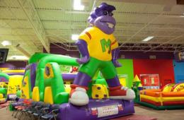 $30 for 5 Open Play Passes to Monkey Joe's Play Center - Germantown & Dulles/Sterling Locations (54% Off)
