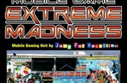 Mobile Video Game Extreme Madness Party