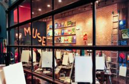 $19+ for Painting Session for One, Two or Four People - Kids or Adults! - at the BRAND NEW Muse Paintbar in Gaithersburg + Party Option (Up to 54% Off)