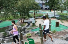 Two Rounds of Mini Golf