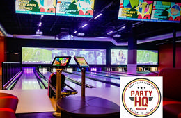 Grand Opening! Party HQ Bowling or Laser Tag