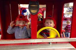 Birthday Party at the Fire Museum of Maryland