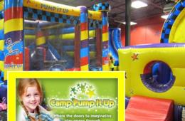 Half Day of Morning or Afternoon Pump It Up of FREDERICK School's Out Camp
