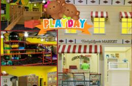 $18 for THREE or $33 for SIX All-Day Play Passes at PLAYDAY + BIRTHDAY PARTY OPTION - Stafford (Up to 54% Off)
