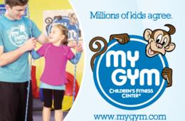 $129 for 8 Weeks of Classes & Lifetime Membership OR $225 Deluxe Birthday Party Package from My Gym Chantilly (Up 50% Off)