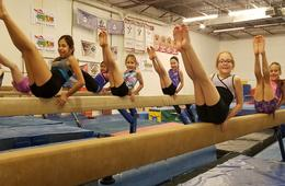 Gym America Gymnastics, Dance, Cheer or Ninja Fit Classes