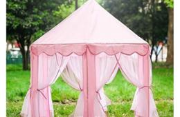 $49 for Princess Fairy Castle Tent from Della Direct - Includes FREE Shipping - Available in Pink or Blue! (60% Off)