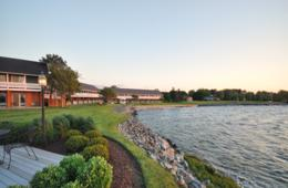 $169 + for One-Night Waterfront Stay at The Harbourtowne Resort in St. Michaels, MD on the Eastern Shore (Up to 35% Off)