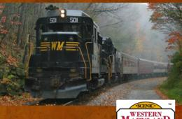 $18 for One Adult or Child Ticket on Western Maryland Scenic Railroad (Up to 56% Off)