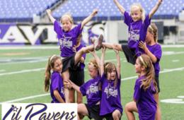 $135+ for Ravens Cheerleader Camp for Ages 6-17 at M&T Bank Stadium - Includes Half Time Show Option! (Up to 21% Off)