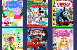 $15 for One-Year Magazine Subscription to Disney Junior, Thomas & Friends, Disney Princess, Marvel Super Heroes and MORE! - GREAT HOLIDAY GIFT (47% Off)