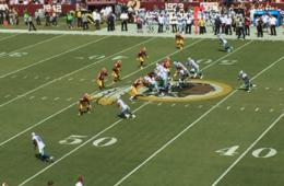 EXCLUSIVE OFFER! $179 for CLUB LEVEL SEATS to Washington Redskins vs. Dallas Cowboys NFL Football Game!