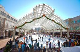 $15 for 2 Admissions - Adult or Child - Including Skate Rentals at Reston Town Center Ice Skating Pavilion ($30 Value - 50% Off)