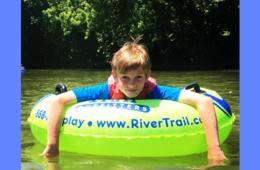 One Adult or Child River Tubing 2019 SEASON PASS at River and Trail Outfitters