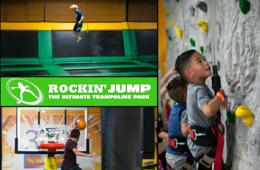 $19 for Rockin' Jump Trampoline Park 2-Hour Open Jump Pass VALID ANY DAY + BIRTHDAY PARTY OPTION - Gaithersburg (21% Off)