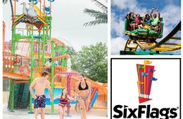 Six Flags America 'Any Day' Admission - Includes Hurricane Harbor Waterpark!