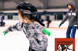 $12 for Ice Skating Admission and Skate Rental for Two at SkateQuest + BIRTHDAY PARTY OPTION - Reston (Up to 50% Off)