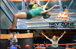 Valid Any Day General Admission Freestyle Jump hours!! $34 for THREE 60-Minute Jump Passes at SKY ZONE TRAMPOLINE PARK - Gaithersburg, Columbia, Manassas and Fredericksburg (Up to 35% Off)