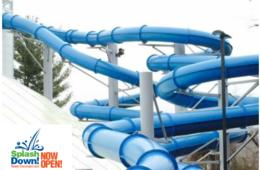 $37 for FIVE Admissions to SplashDown Indoor Water Park at Columbia Swim Center - NEWLY RENOVATED! (51% Off)