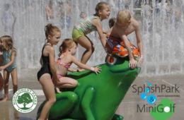 $8 for TWO Splash Playground Admissions + Mini-Golf - South Germantown Recreational Park (43% Off!)