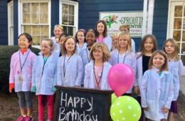 $199+ for STEAM Birthday Party at Sprouting Scientists in Roswell for Ages 4-10 (Up to $76 Off)
