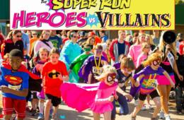 $22 for Entry to The Super Run Family 5K Race to Support Local Non-Profits - Coming to a Location Near You! (38% Off)