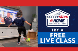 FREE Trial of Soccer Stars @HOME Virtual Classes