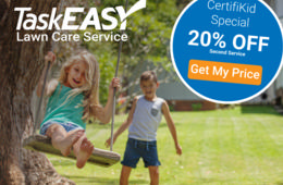 Save 20% on Hassle-Free Lawn Mowing with TaskEASY!