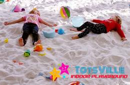 BRAND NEW! 2 Open Play Passes at Totsville Indoor Playground