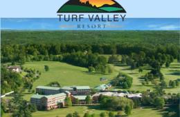 $117+ for Turf Valley Resort 1-Night Getaway & Breakfast + GOLF OPTION (50% Off)