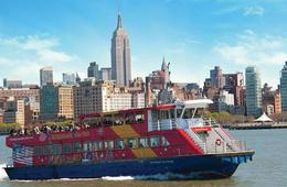 New York City Sightseeing Cruises with Choice of Add-on Attractions from CitySights NY