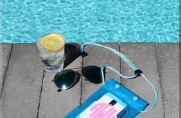 $7 for Monogram Waterproof Pouch - Keep Your Phone Dry at the Pool and Beach! Includes Free Shipping! (50% Off)