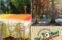 $88 for 2-Night CABIN or 3-Night CAMPSITE Getaway at HAGERSTOWN, MD Yogi Bear's Jellystone Park (Up to 55% Off!)