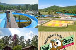 $90 for 3- or 4-Night CAMPSITE or $150 for 2-Night CABIN Vacation at LURAY, VA Yogi Bear's Jellystone Park (50% Off)