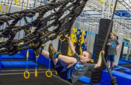 $12 for 1-Hour Pass to THE BRAND NEW STERLING, VA ZavaZone + Jump Socks! Includes Jump & Adventure Zone, Climbing, American Ninja Warrior Challenges & More for Ages 5+ (45% Off)