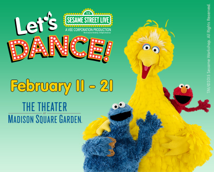 Save Up To 35 To See Sesame Street Live 39 S Let 39 S Dance At The Theater At Madison Square Garden
