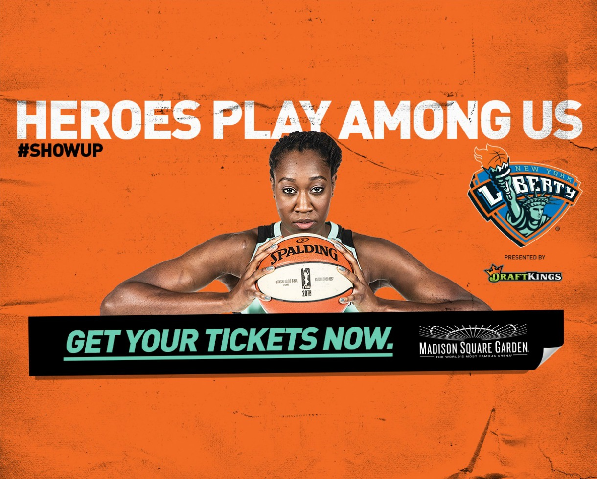 Deal 15 For New York Liberty Basketball Tickets Madison Square Garden Up To 43 Off