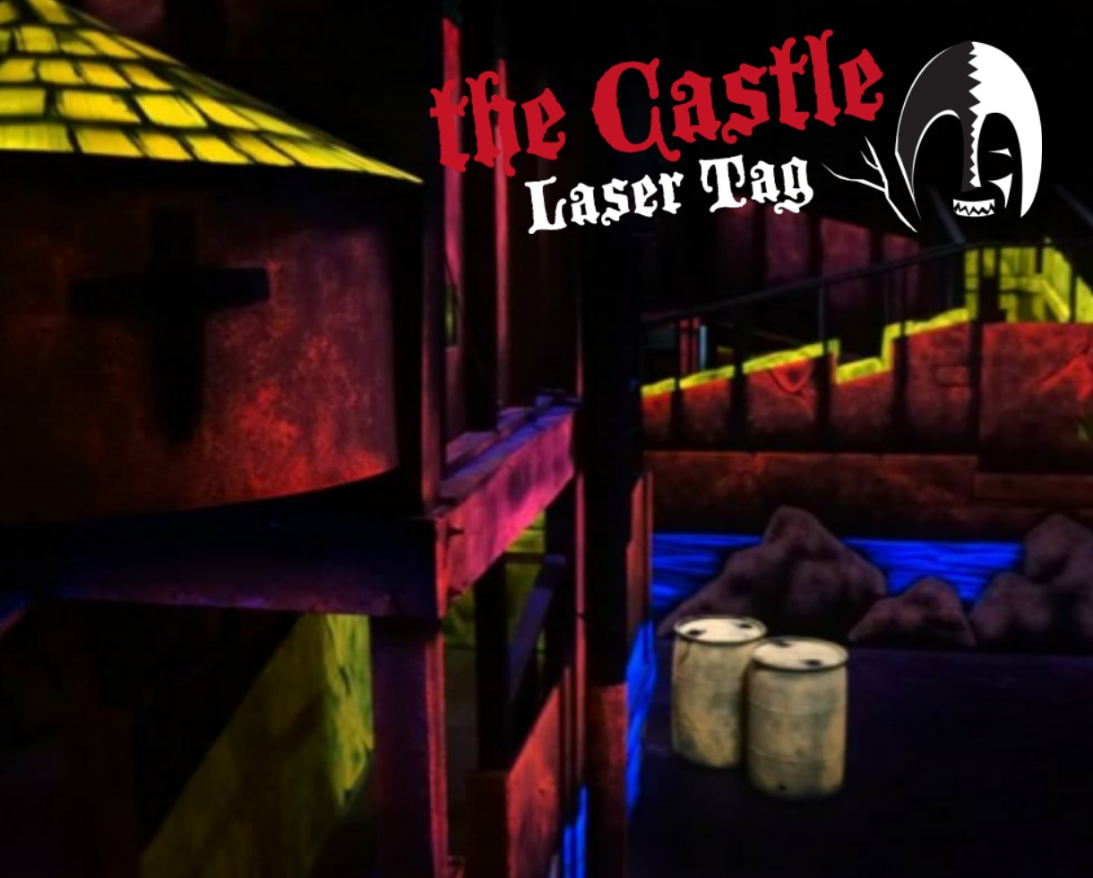 Laser Tag For Two Four Or Six People At The Castle Laser